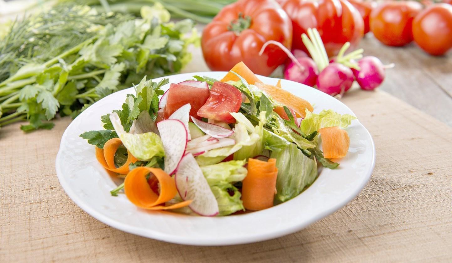 Овощной салат фото и рецепты