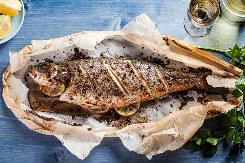 Коптим рыбу в духовке