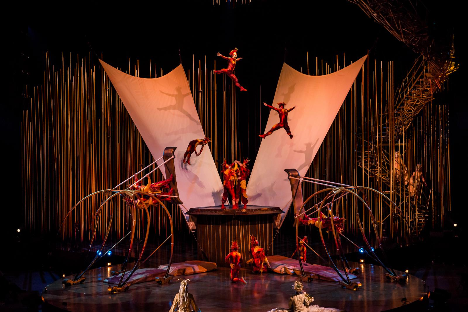 «Цирк дю Солей» в Петербурге 2019