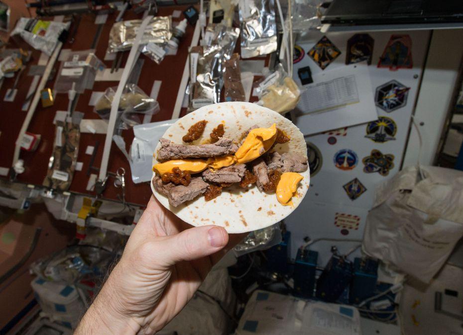 Так выглядит еда космонавтов