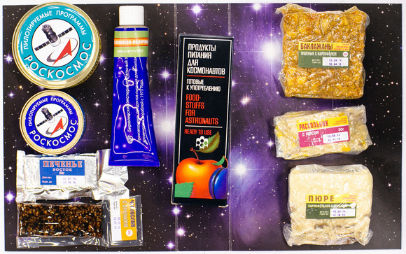 Набор продуктов в космос