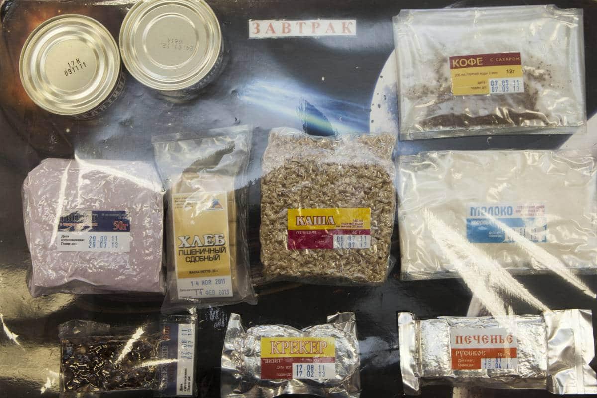 Сублимированные продукты для космонавтов